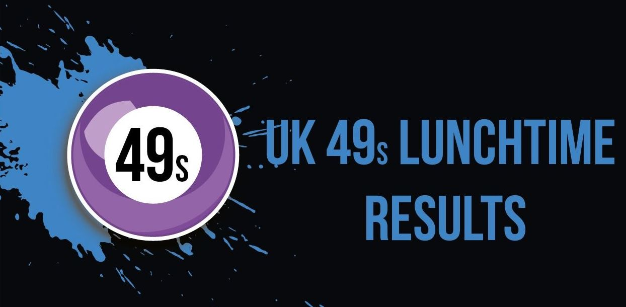 UK Lunchtime Results (UK49s Lunchtime Results)
