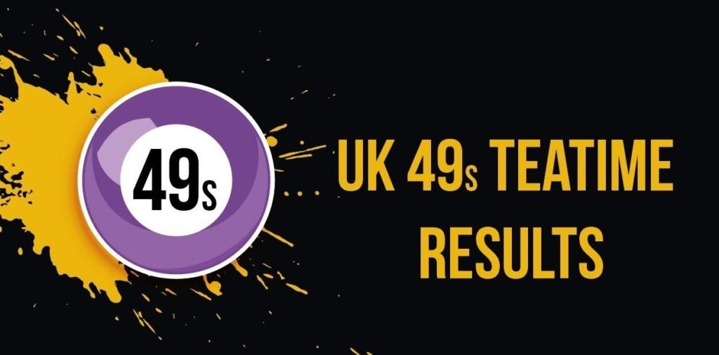 UK Teatime Results (UK49s Teatime Results)