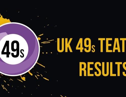UK49s Teatime Results: Sunday 20 June 2021